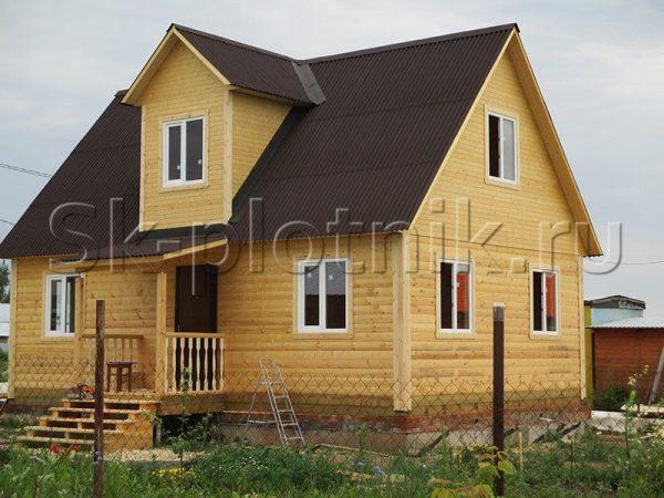 Отзыв об объекте «Брусовый дачный дом с мансардой 6х9 м., респ. Татарстан»