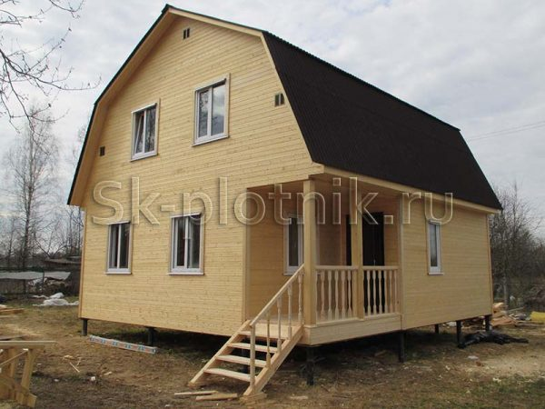 Отзыв об объекте «Дом из профилированного бруса 150х150, Тверская область»