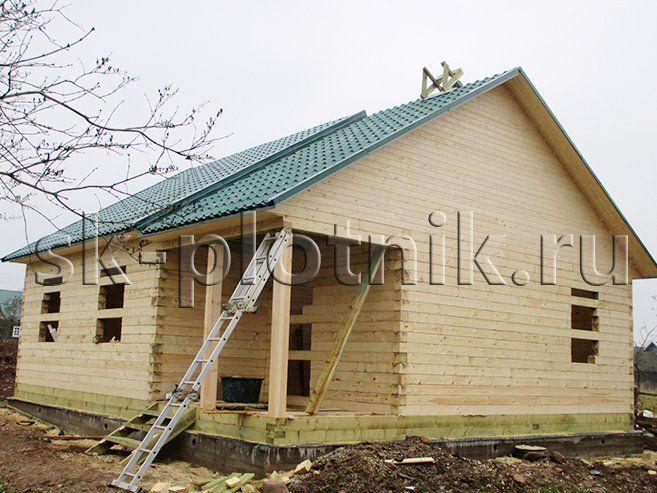 Отзыв об объекте «Брусовый сруб одноэтажного дома 8х9 м., Маловишерский район»