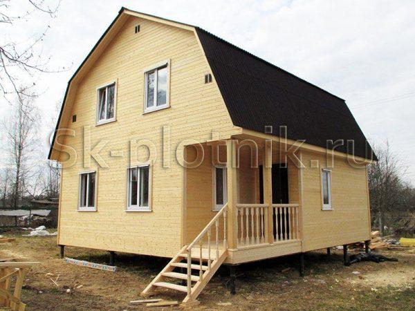 Отзыв об объекте «Каркасный дом 7.5х8 м., Клинский район, МО»