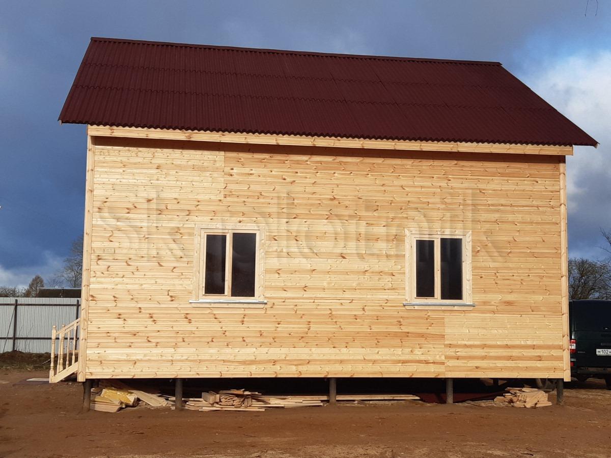 Отзыв о строительстве каркасного дома.