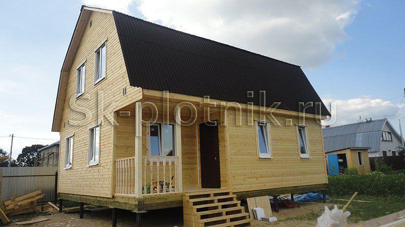 Отзыв об объекте «Каркасный двухэтажный дом с котельной 7.5х8 м. в Истринском районе»