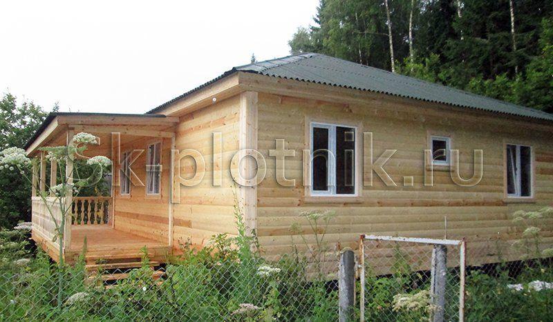 Отзыв об объекте «Одноэтажный деревянный дом 8х8 м., МО»