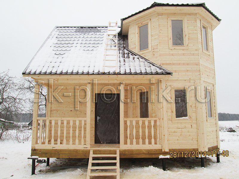 Отзыв об объекте «Брусовый дачный дом 6х7 м. в Орехово-Зуевском районе»