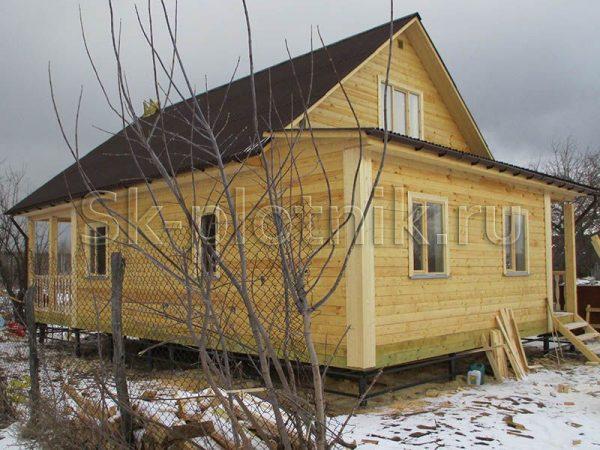 Отзыв об объекте «Дом из профилированного бруса по индивидуальному проекту, с. Кривец»