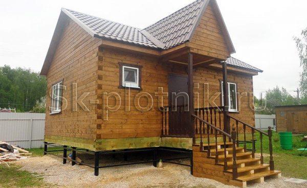 Отзыв об объекте «Дом в один этаж 6х7.5 м., Тульская область»