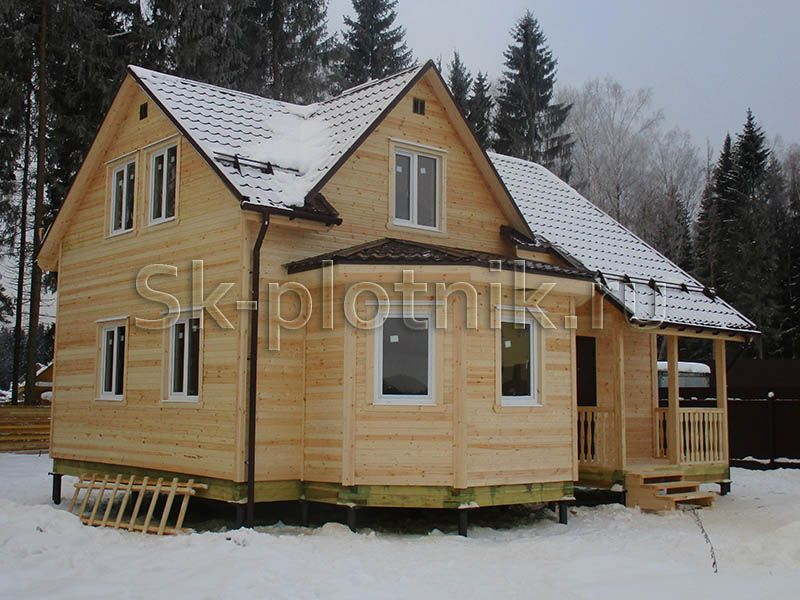 Отзыв об объекте «Двухэтажный каркасный дом 8х9 м. в Выборгском районе»
