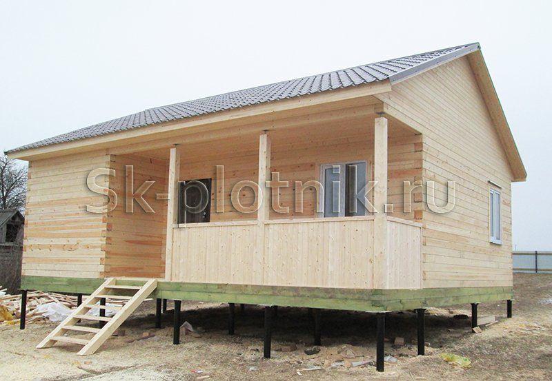 Отзыв об объекте «Дачный дом из бруса 7.5х9, Тульская область»