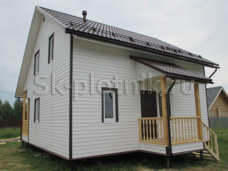 Отзыв об объекте «Каркасный дом с мансардой в два этажа в Павлово-Посадском районе»
