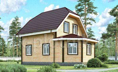 Дом с эркером ДК-16