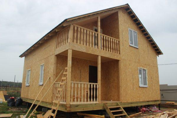 Отзыв об объекте «Каркасный дом по типовому проекту Д24»