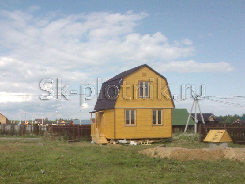 Строительство дома в московской области.