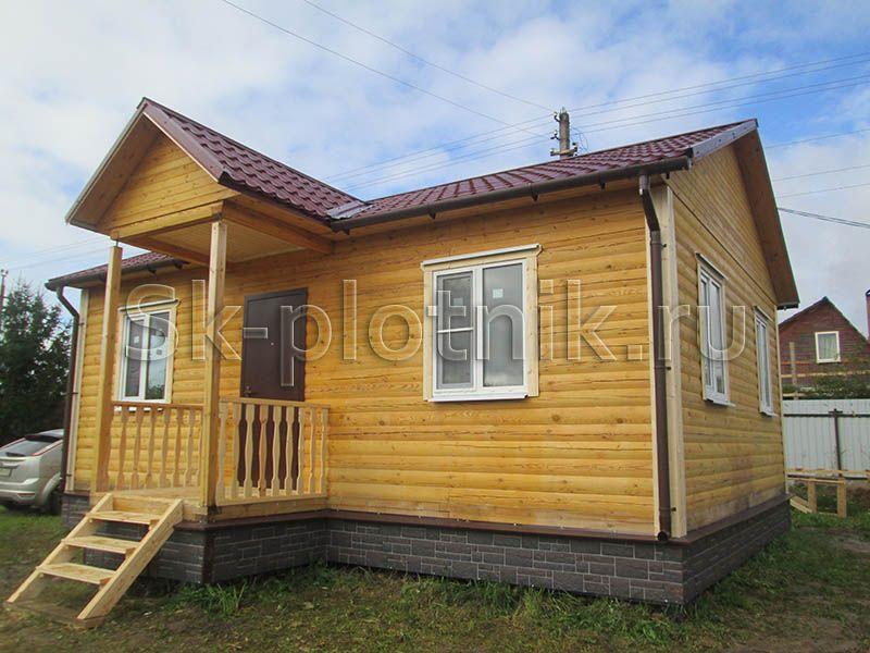 Отзыв об объекте «Отделка дома из профилированного бруса 150х150 во Владимирском районе»