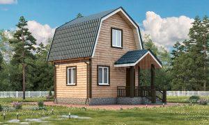 Небольшой дом из бруса 4х5 Д-3