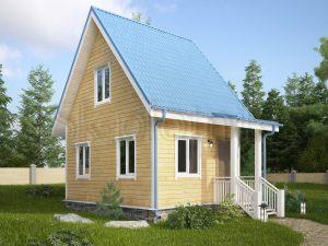 Деревянный каркасный дом ДК-5
