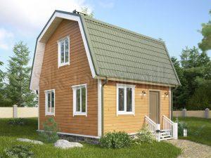 Каркасный дом ДК-6