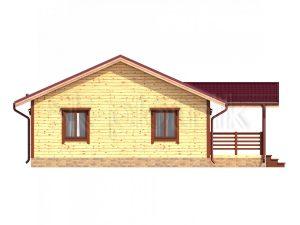 Дом из бруса 8х12 Д-64