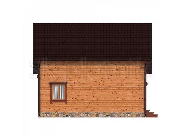 Дом из бруса Д-60. Картинка №1