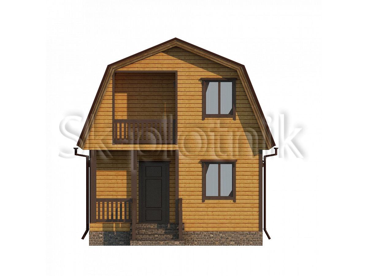 Дом из бруса 6х6 Д-67