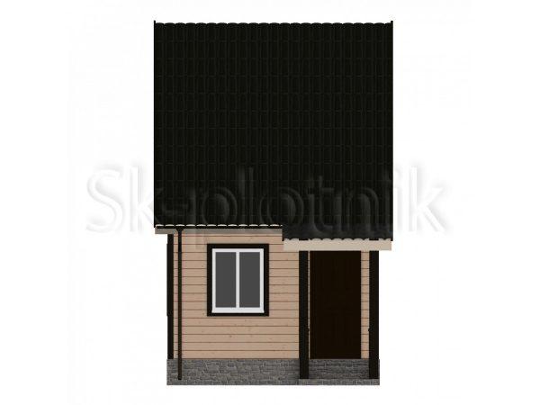 Дом из бруса 4х6 Д-5. Картинка №1