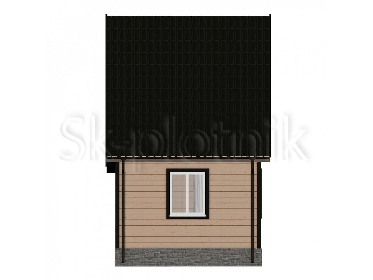 Дом из бруса Д-5