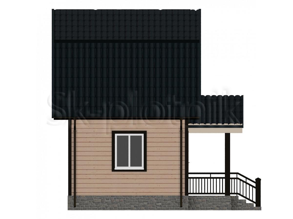 Дом из бруса  Д-3