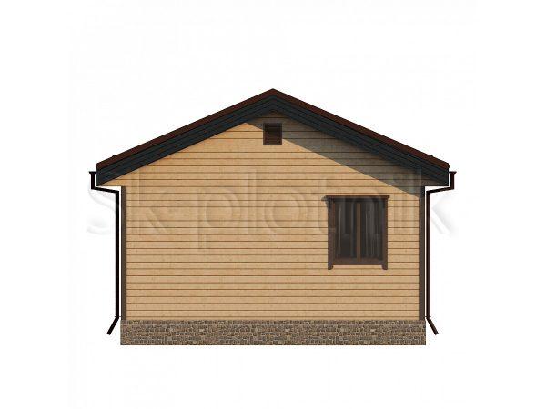 Дом из бруса 4х6 Д-85. Картинка №1