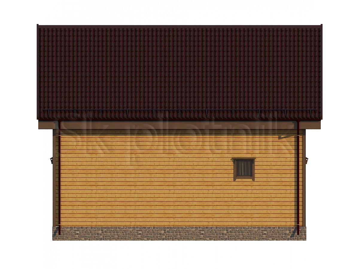 Дом из бруса Д-71