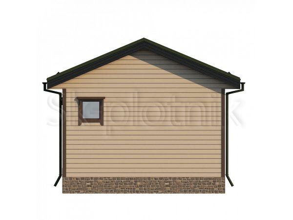 Дом из бруса 5х4,5 Д-75. Картинка №1