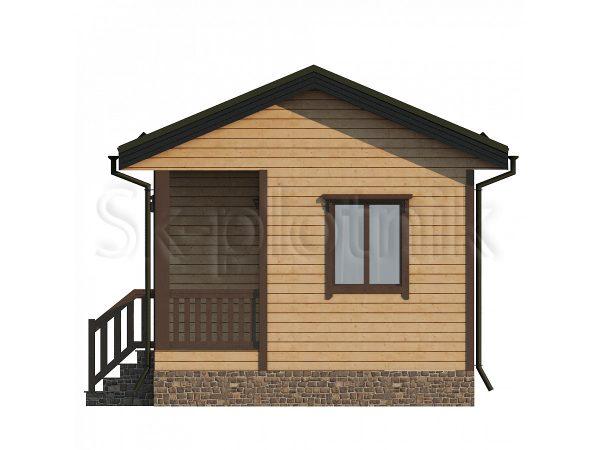 Дом из бруса 6х4,5 Д-77. Картинка №1