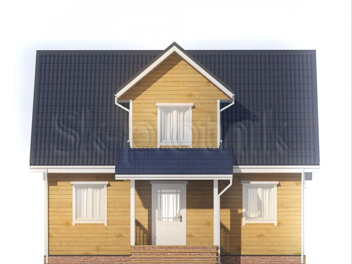 Дом из бруса 6х9 Д-91