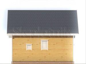 Загородный дом из бруса 6х9 Д-93