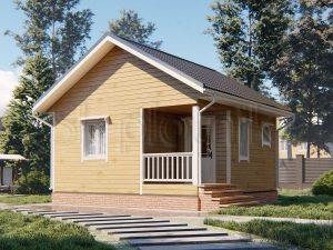 Дом из бруса 6х6 Д-106