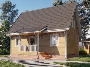 Дом из бруса 6х9 Д-98