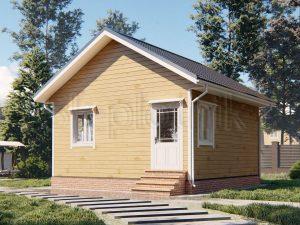 Дом из бруса 6х6 Д-103