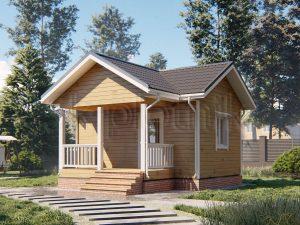 Дом из бруса 6х4 Д-94