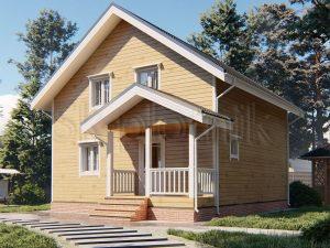 Дом из бруса 8х8 Д-113