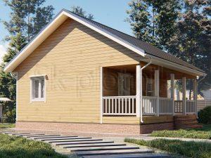 Дом из бруса 8х8 Д-108